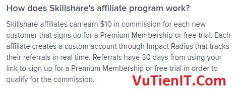 how does skillshare affiliate