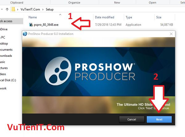 huong dan cai dat ProShow Producer 8 Full crack