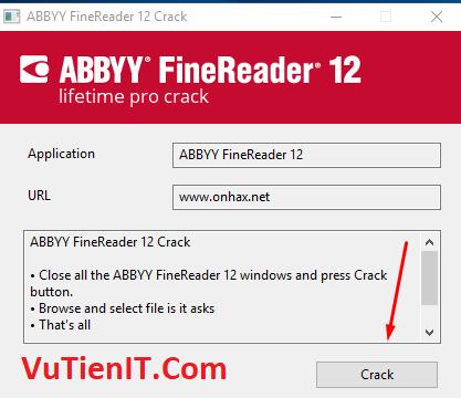 huong dan crack ABBYY FineReader pro 12 01