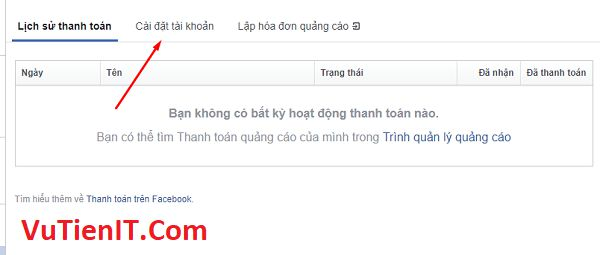 tao phuong thuc thanh toan facebook 2