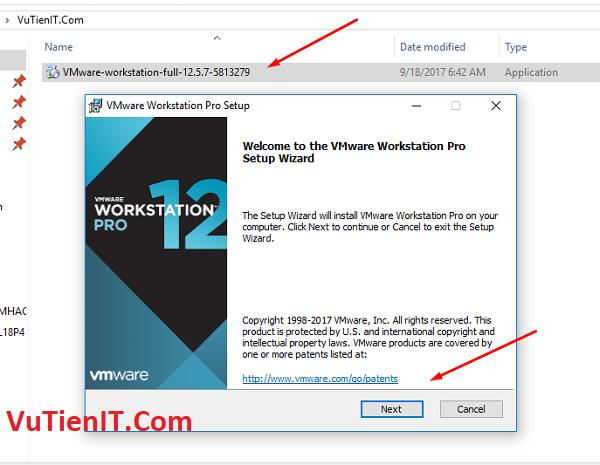 huong dan cai dat VMware Workstation Pro 12