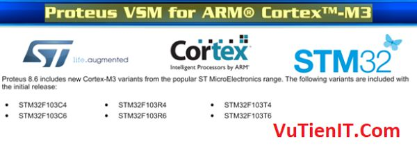 Proteus VSM for ARM® Cortex™-M3