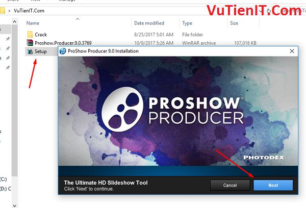 cai dat Proshow Producer 9.0