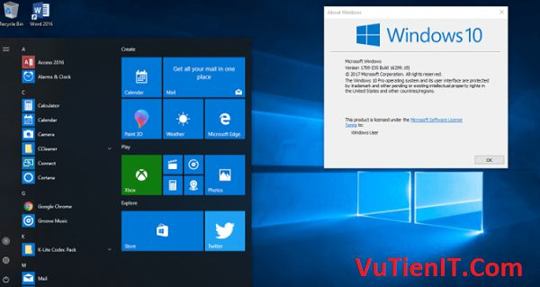 download windows 10 1709 full soft