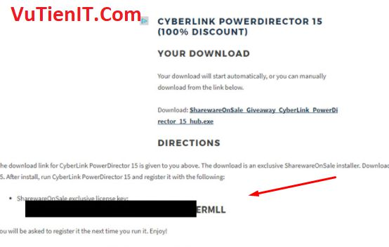 CyberLink PowerDirector 5 full key ban quyen 2