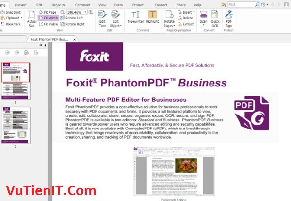 Silent Foxit PhantomPDF Business 9