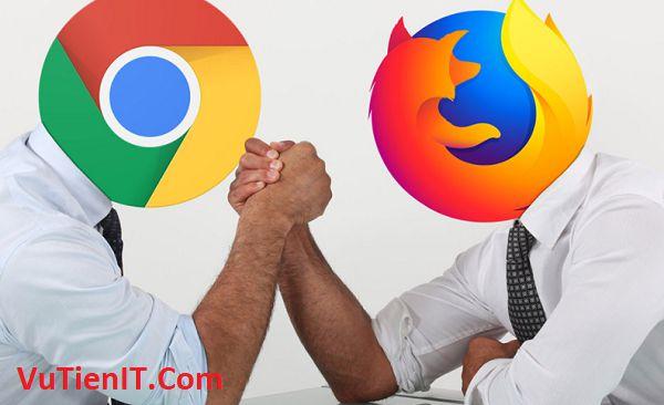 so sanh toc do Firefox Quantum va Google Chrome