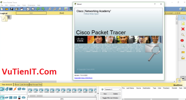 cai dat Cisco Packet Tracer 7 8