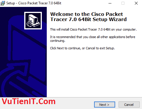 cai dat Cisco Packet Tracer 7