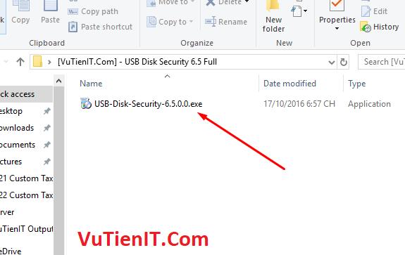 cai dat USB Disk Security