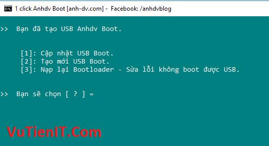 tao usb boot 8