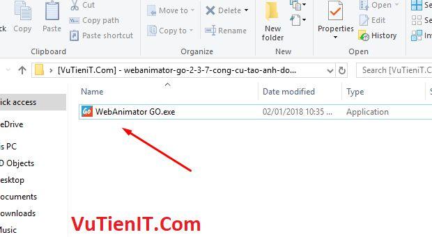 download WebAnimator go