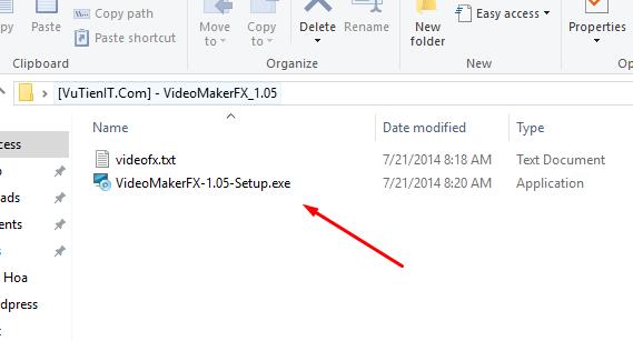 cai dat VideoMakerFX