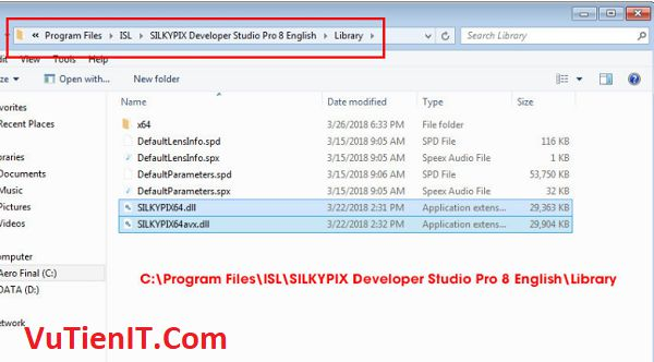 Activate SILKYPIX Developer Studio Pro 8.0