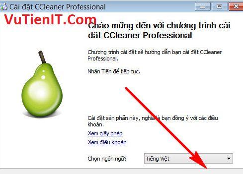 cai dat CCleaner Pro 5.4