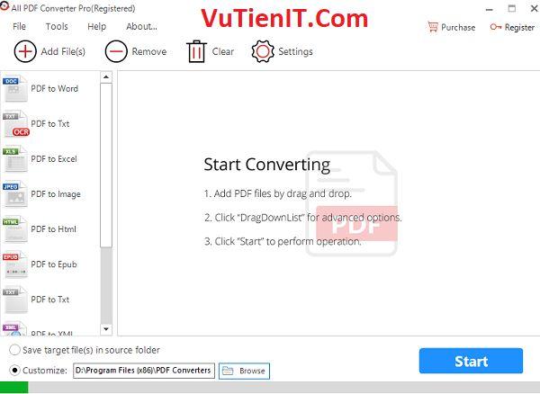 All PDF Converter Pro