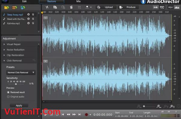 Cyberlink Audiodirector Ultra 7
