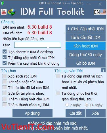 IDM Full Toolkit 3.17