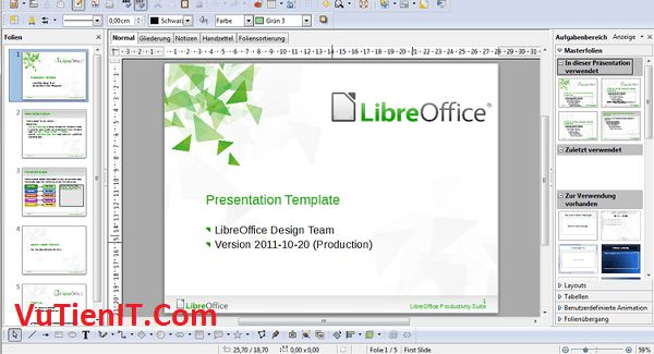 Tải LibreOffice 6.0.2 Portable Full
