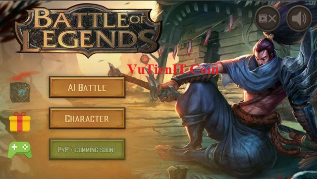 "Battle of Legends – Tựa game dành cho fan của ""đấng"""