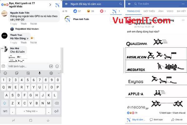 cach mo bieu tuong may bay facebook