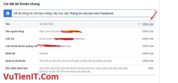 cach dat facebook khong ten