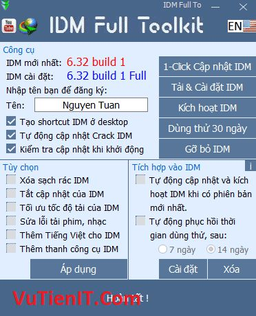 IDM Full Toolkit 3.7