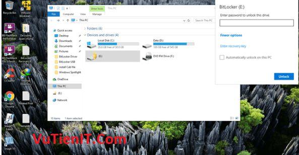 BitLocker usb windows 10 10