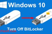BitLocker usb windows 10