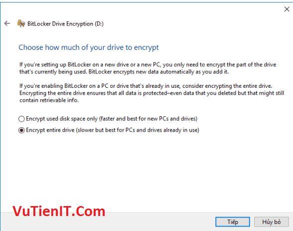 BitLocker usb windows 10 5