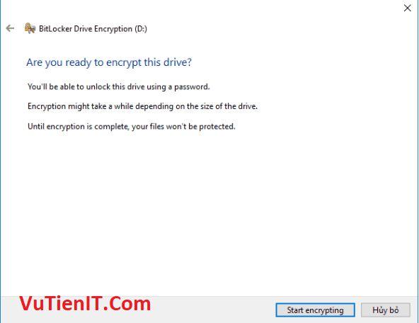BitLocker usb windows 10 6