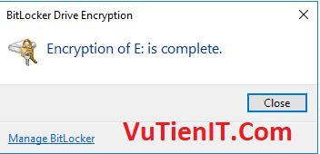 BitLocker usb windows 10 8
