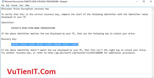 BitLocker usb windows 10 9