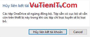 chuyen thu muc OneDrive sang phan vung khac 1