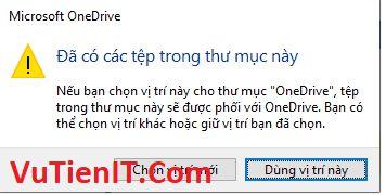 chuyen thu muc OneDrive sang phan vung khac 6