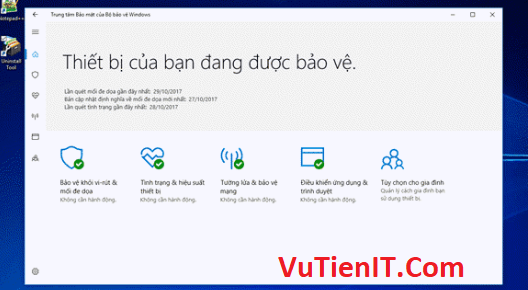 go bo Windows Defender windows 10