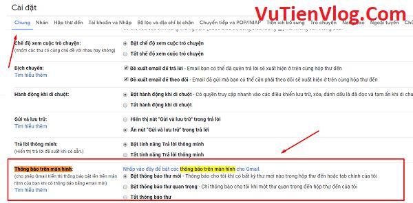 hien thi thong bao email tren desktop 2