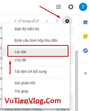 hien thi thong bao email tren desktop
