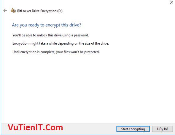 ma hoa o cung BitLocker 6