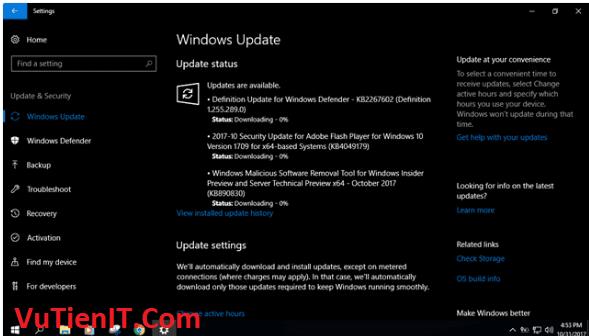 tat windows 10 update