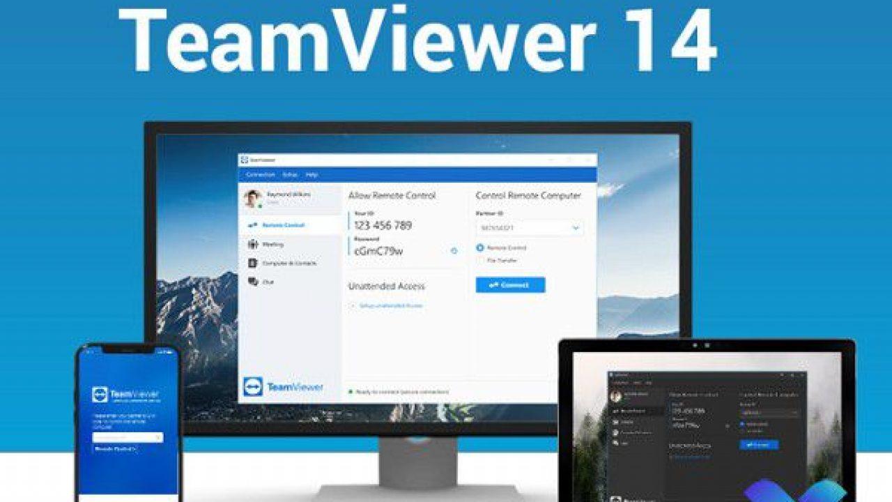 TeamViewer 14 Full với công cụ TVTools AlterID v2 - Key bản quyền