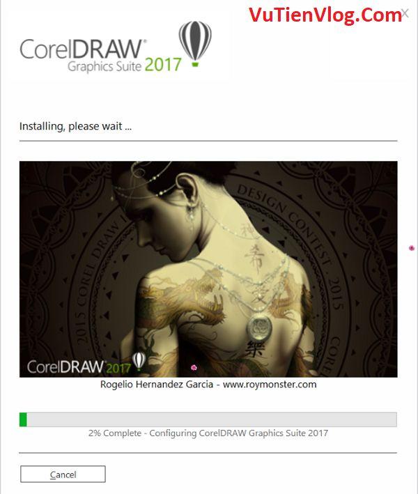 cai dat CorelDraw 2017 9