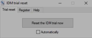 IDM Trial Reset
