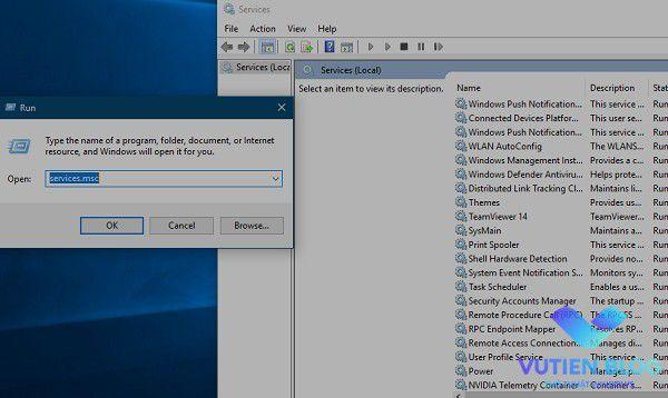 services.msc windows 10