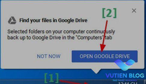 dong bo google driver voi may tinh
