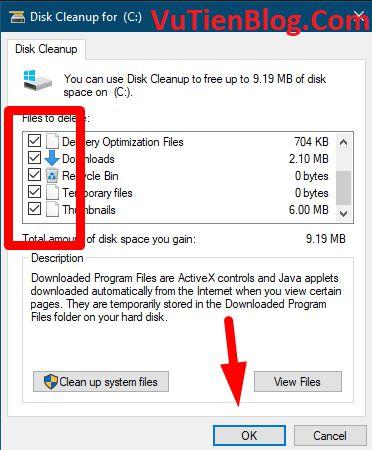 don dep rac may tinh windows 10 7