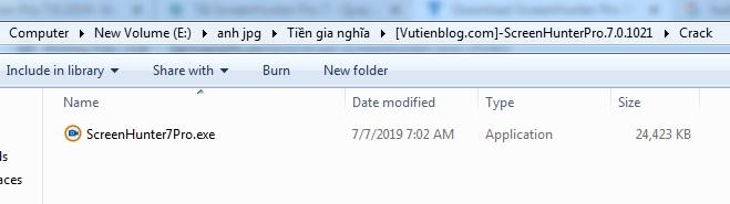 Chup anh man hinh desktop bang ScreenHunter Pro 7.0