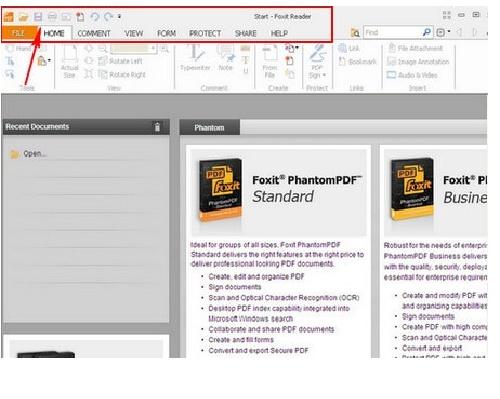 Huong dan su dung phan mem doc file PDF Foxit Reader