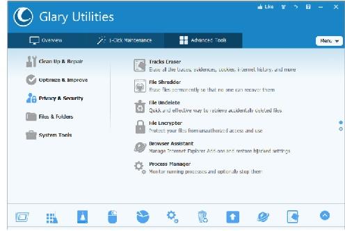 Download phan mem Glary Utilities