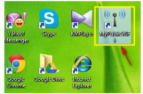 Phan mem phat wifi tren may tinh MyPublicWiFi